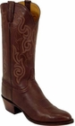 Mens Lucchese Classics Mocha Brown Ranch Hand Custom Hand-Made Cowboy Boots L1563