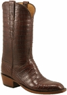 Mens Lucchese Classics Sienna Ultra Crocodile Belly Custom Hand-Made Cowboy Boots L1350