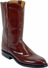 Mens Lucchese Classics Tan Goat Custom Hand-Made Roper Boots L3506