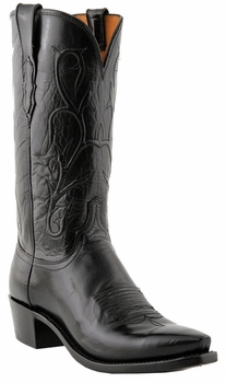 Mens Lucchese Heritage Black Buffalo N1652