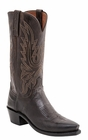 """Mens Lucchese """"Cole"""" Chocolate Burnished Goat Leather Boots N1556"""