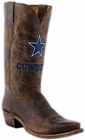 Mens Lucchese NFL Dallas Cowboys Tan Madras Goat Cowboy Boots M1041