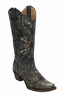 *NEW* Corral Women's Black - Gold Embroidery Boot - A3046