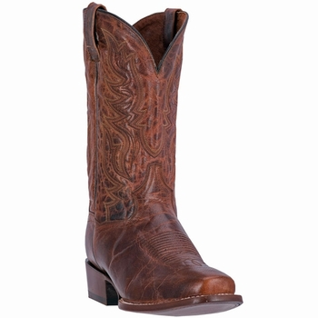 """*NEW* Dan Post Mens """"Emerson"""" All Leather Foot Sand Western Boots DP2250"""