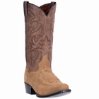 "*NEW* Dan Post Mens ""Gabriel"" Suede Foot Natural Western Boots DP2403"