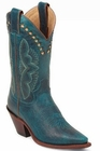 Justin Ladies Classic Western Turquoise Damiana L4302