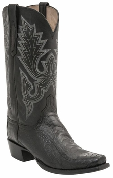 *NEW* Lucchese Men's Heritage Anson Boot - Black Matte H1006