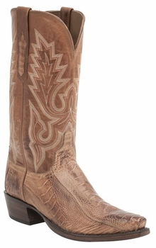 *NEW* Lucchese Men's Heritage Anson Boot - Brandy Matte H1007