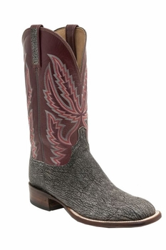 *NEW* Lucchese Men's Heritage Archer Boot -  Anthracite H2503