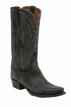 *NEW* Lucchese Men's Heritage Austin Boot - Black Burnished H1501