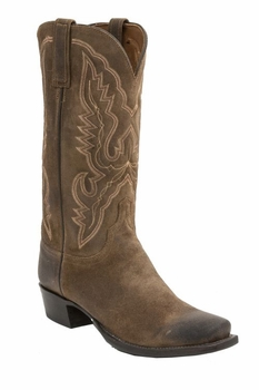 *NEW* Lucchese Men's Heritage Austin Boot - Olive Burnished H1502