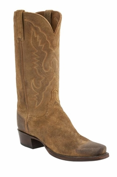 *NEW* Lucchese Men's Heritage Austin Boot - Sand Burnished H1500