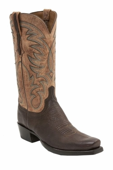 *NEW* Lucchese Men's Heritage Ferris Boot - Jurassic Brown H1511
