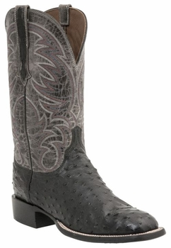 *NEW* Lucchese Men's Heritage Lamar Boot - Black H2001