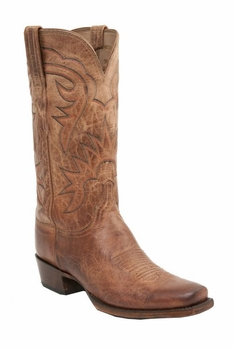*NEW* Lucchese Since 1883 Men's Burleson Boot - Tan Burnished H1504