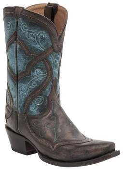 Lucchese Since 1883 Women's Audine Boot - Cafe M4917