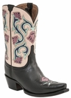 Lucchese Since 1883 Women's Belle Boot - Black M4921