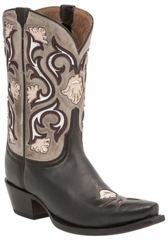 Lucchese Since 1883 Women's Belle Boot - Chocolate M4919
