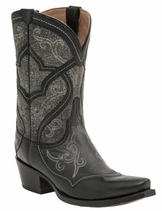 Lucchese Since 1883 Womens Audine Boot – Black M4915