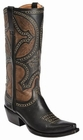 Lucchese Since 1883 Womens Leila Boot - Black M4862