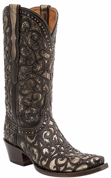 *NEW* Lucchese Since 1883 Womens Sierra Boot - Espresso M4841