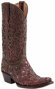 Lucchese Since 1883 Womens Sierra Boot - Whiskey M4840