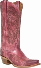 """*NEW* Lucchese Women's """"Charity"""" Pink Distressed Boot M4968"""