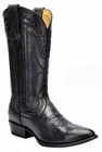 *NEW* Men's Corral Black Laser and Whip Stitch Western Boots C3061