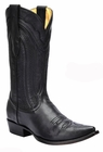 *NEW* Men's Corral Black Snip Toe Western Boots C3068