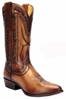 *NEW* Men's Corral Tan Laser and Whip Stitch Western Boots C3059
