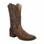 *NEW* Men's Corral Tan Lizard Vamp Western Boots A3094