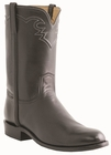 Men�s Lucchese Classics Black Roper with Roman Crown and Torero Pullstrap Italian Kangaroo L3562