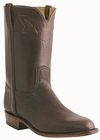 Men�s Lucchese Classics Jurassic Brown Roper with Roman Crown and Torero Pullstrap Sheep L3566