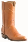 Men�s Lucchese Classics Peanut Indalux Calf Roper with Roman Crown and Torero Pullstrap L3569