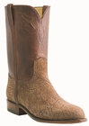 Mens Lucchese Classics Amazon Brown Sheepskin Roper Custom Hand-Made Leather Boots L3564