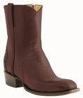 Mens Lucchese Classics Burgundy Pony Matador with Roman Crown Italian Kangaroo F5070