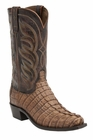 "Men's Lucchese ""Landon"" Tan Hornback Caiman Tail Boot - Landon M2691/M2688"