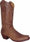 "Star Boots for Men 13"" Brown Pull Up Cowboy Leather Boots M7041"