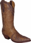 "Star Boots for Men 13"" Sand Mulan Cowboy Leather Boots M7121"