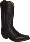 "Star Boots For Men Black Oily Cowboy 13"" M8560"