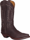 "Star Boots For Men Brown Crazy Horse Cowboy 13"" M8562"