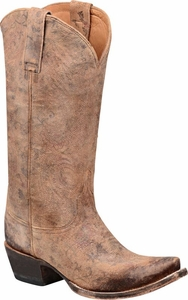 "*NEW* Women's Lucchese ""Marilyn"" Brown Cowhide Cowgirl Boots M4950"