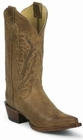 Nocona Ladies Old West Tan Fashion Cowgirl Boots NL5015