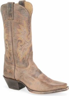"Sonora® By Double H Womens ""Desert Brilliance"" 11"" Chocolate Full Grain Leather Boots SN5223"