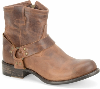 "Sonora® By Double H Womens ""Josie"" Rust Full Grain Leather Boots SN1330"