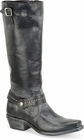 "Sonora® By Double H Womens ""Melinda"" 14"" Black Full Grain Leather Boots SN1017"