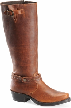 "Sonora® By Double H Womens ""Melinda"" 16"" Rust Full Grain Leather Boots SN1070"