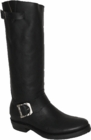 """Star Boot Black Oily Engineer Boots 14"""" W8510"""