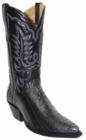Star Boots for Men Wild Grey Ostrich Leg Leather Boots M9233