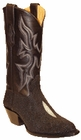 Star Boots for Women Black Stingray Boots W9003